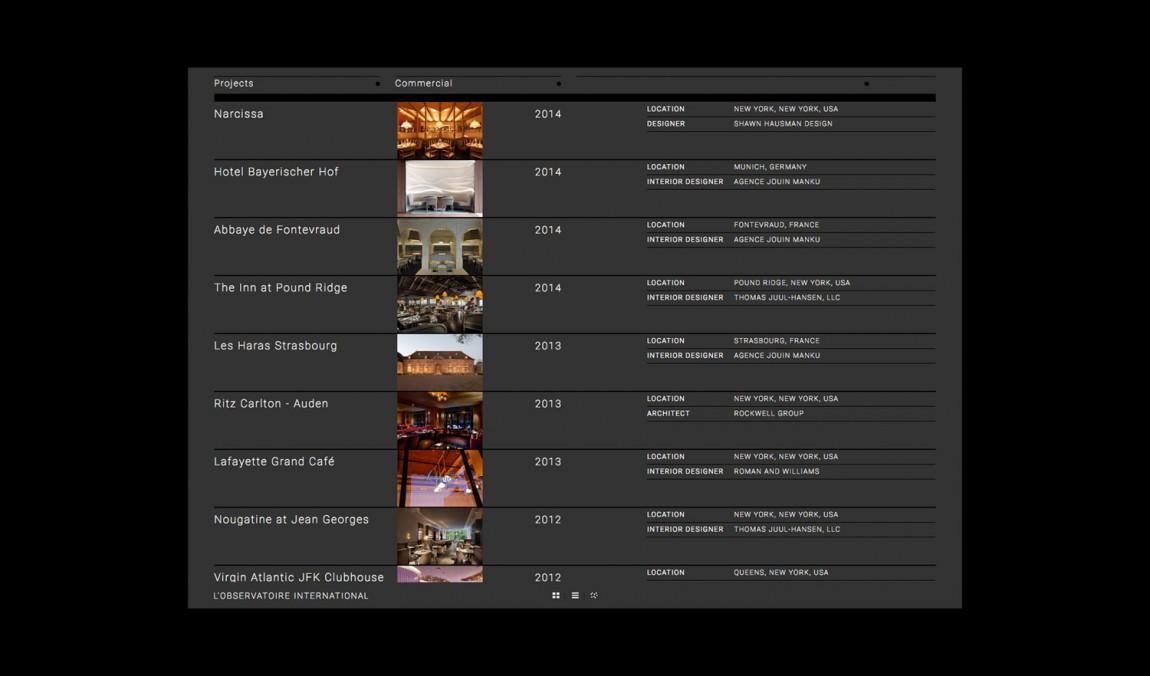 美国LOI照明设计公司VI企业形象设计, 公司网站设计