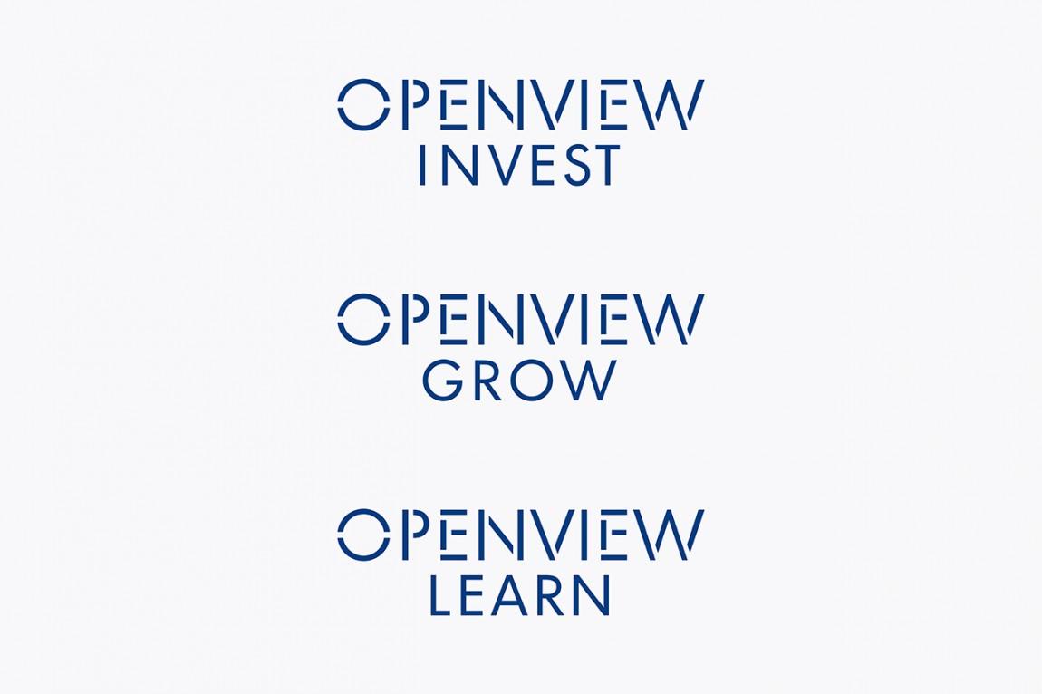OpenView整体品牌塑造形象设计,部门品牌设计