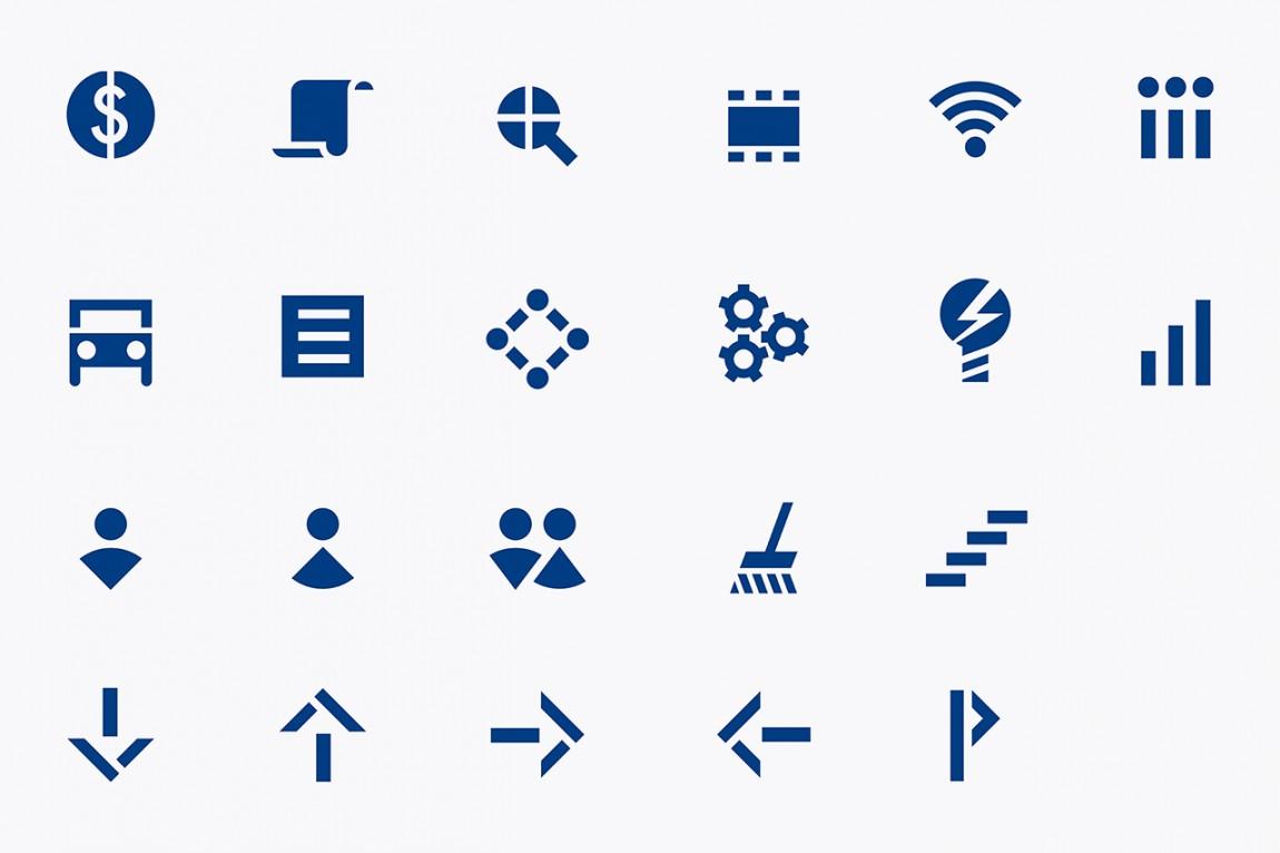 OpenView整体品牌塑造形象设计,图标设计