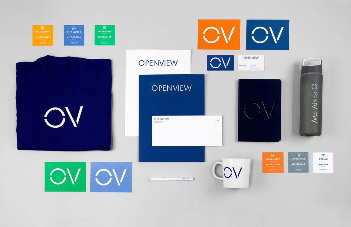 OpenView整体品牌塑造形象设计, VI设计