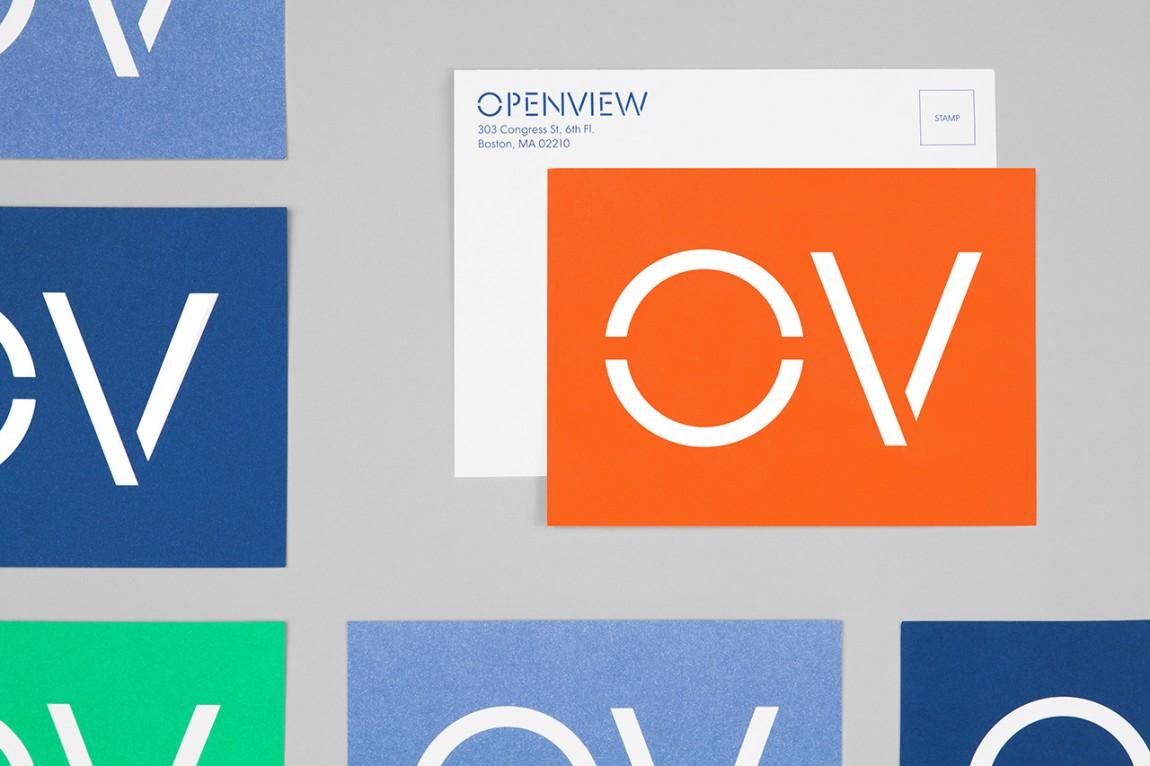 OpenView整体品牌塑造形象设计,市场推广设计