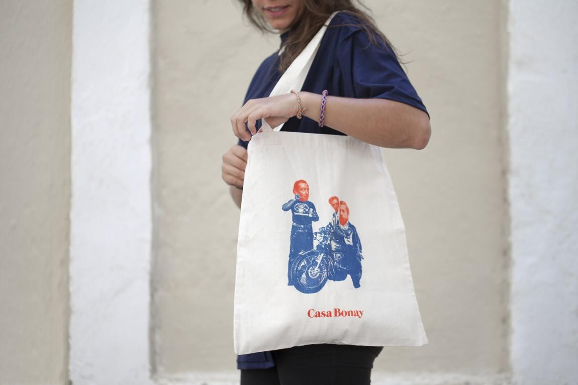 Casa Bonay新古典主义酒店品牌VI设计, 手提袋设计