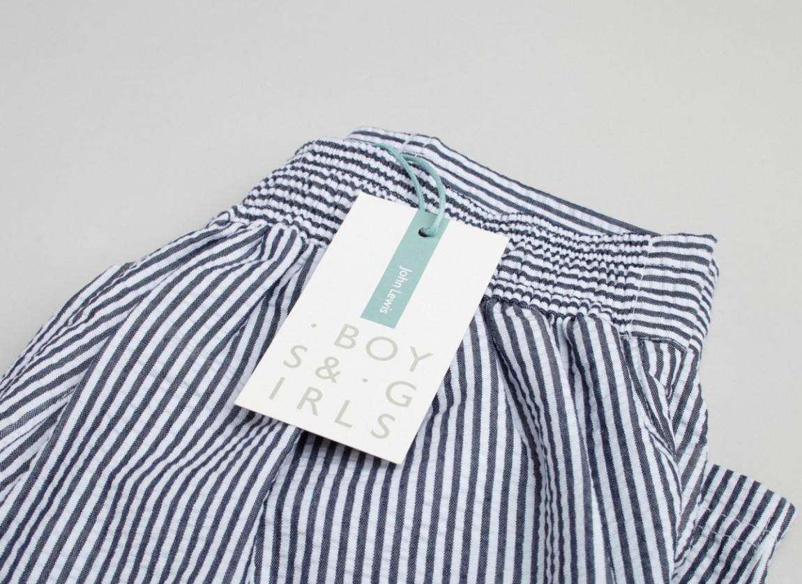 伦敦Boys&Girls服装品牌设计策划案例理念说明,吊牌设计