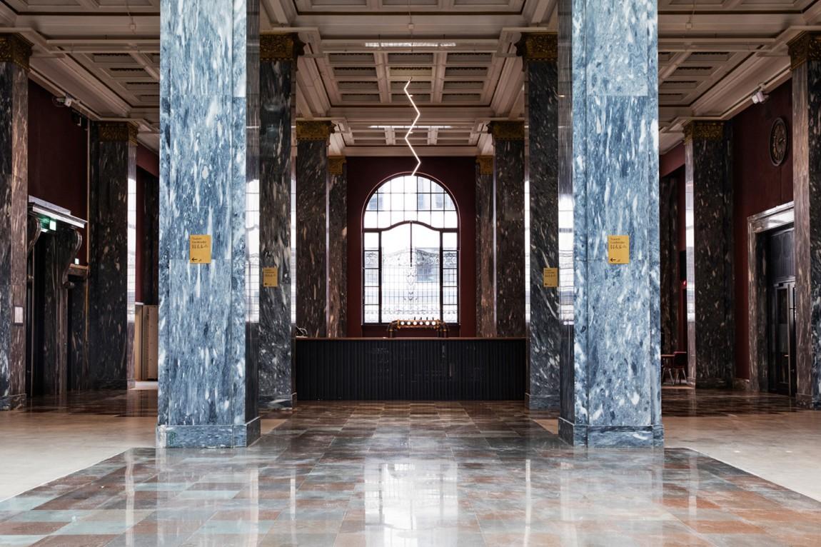 Sentralen文化中心vi企业形象设计,导视设计