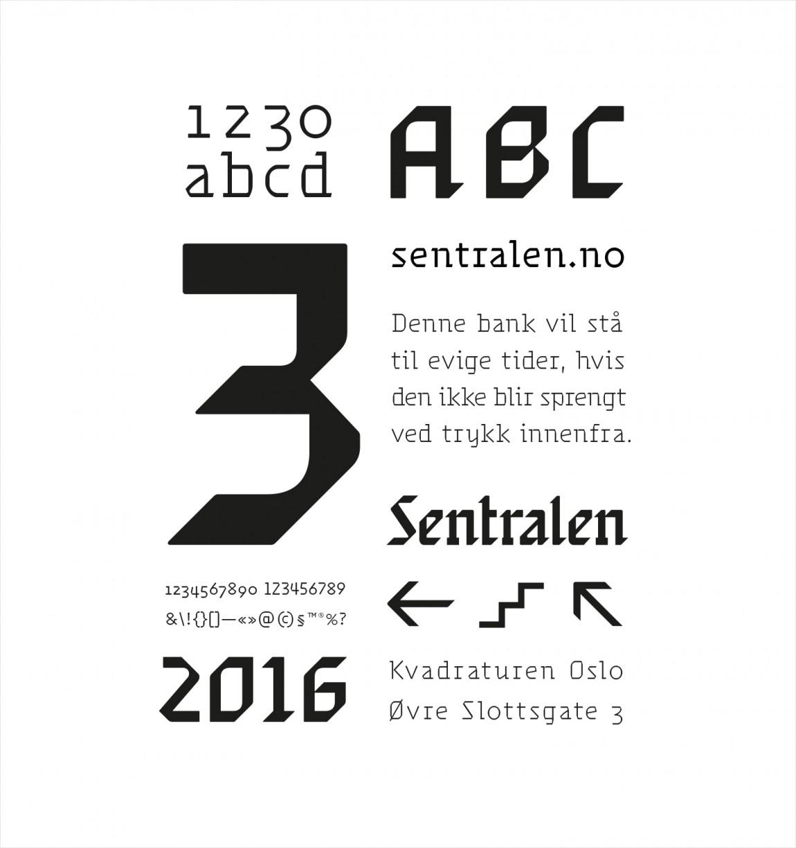 Sentralen文化中心vi企业形象设计, 海报设计
