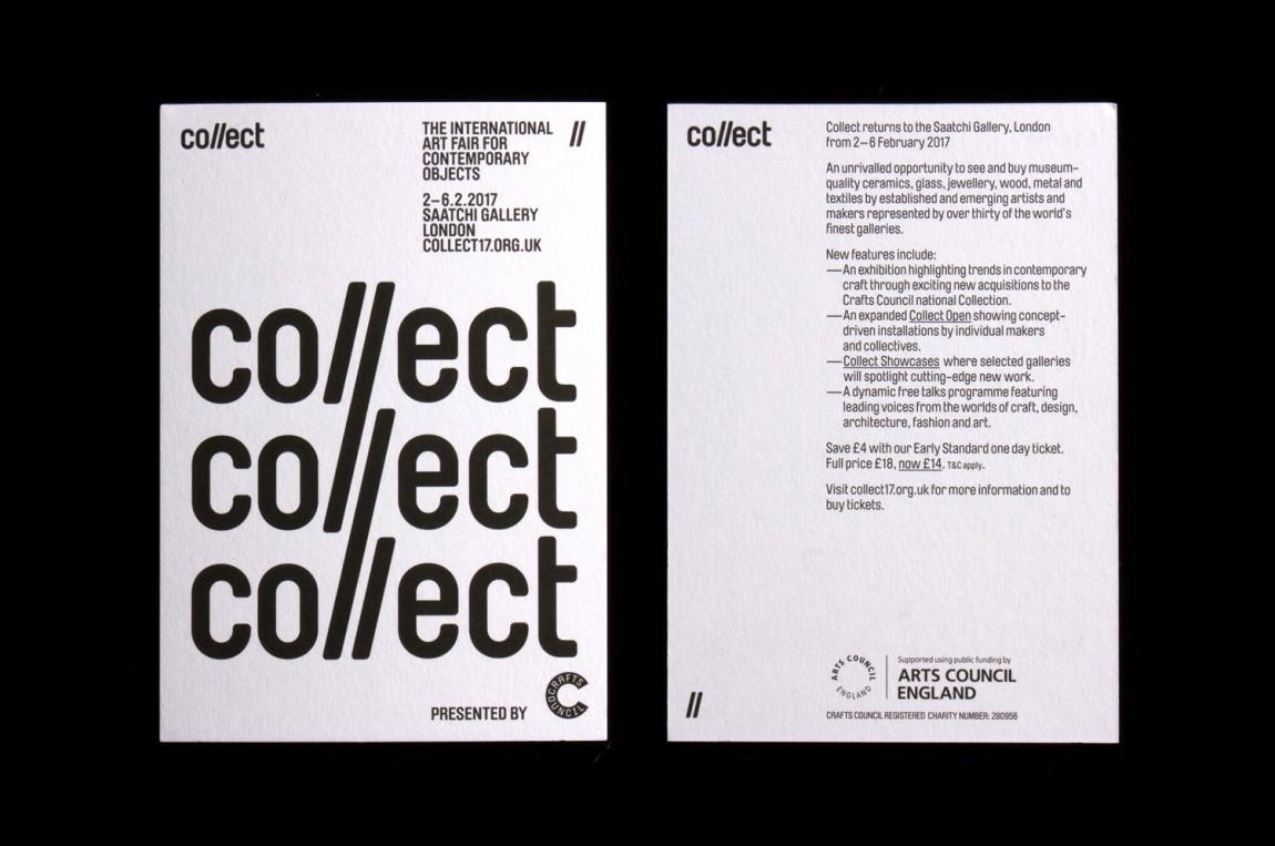Collect国际艺术展视觉传达艺术设计,海报设计