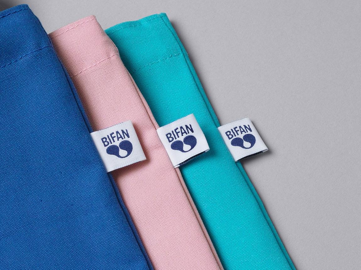 BIFAN品牌形象VI设计, 手提袋设计