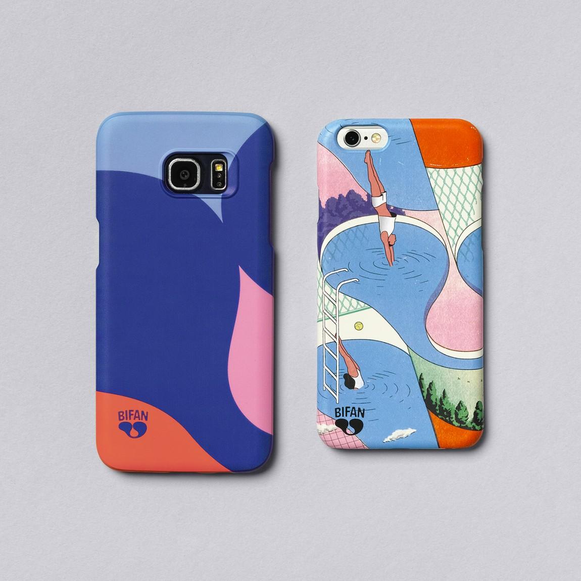 BIFAN品牌形象VI设计,手机壳了礼品设计
