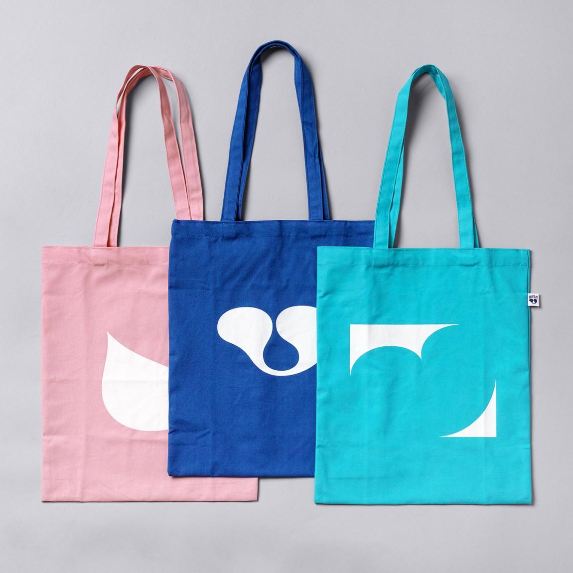 BIFAN品牌形象VI设计,广告袋设计