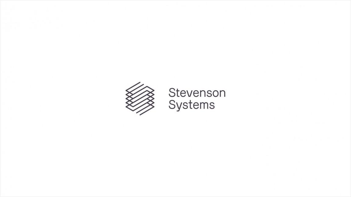 Stevenson Systems 建筑空间咨询公司品牌形象塑造全案设计,logo标识设计
