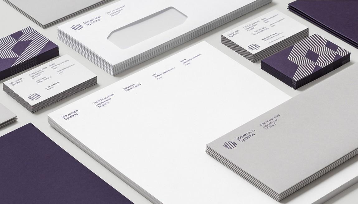Stevenson Systems 建筑空间咨询公司品牌形象塑造全案设计,VIS设计