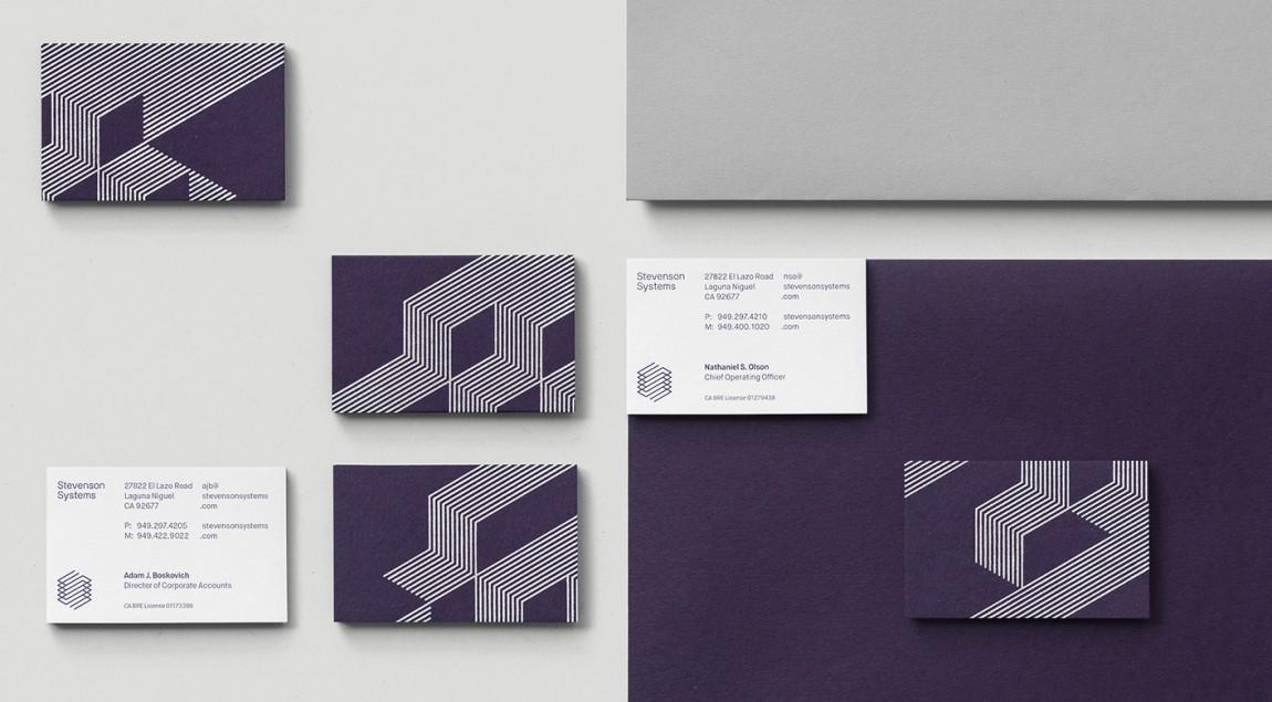 Stevenson Systems 建筑空间咨询公司品牌形象塑造全案设计,企业形象识别系统设计