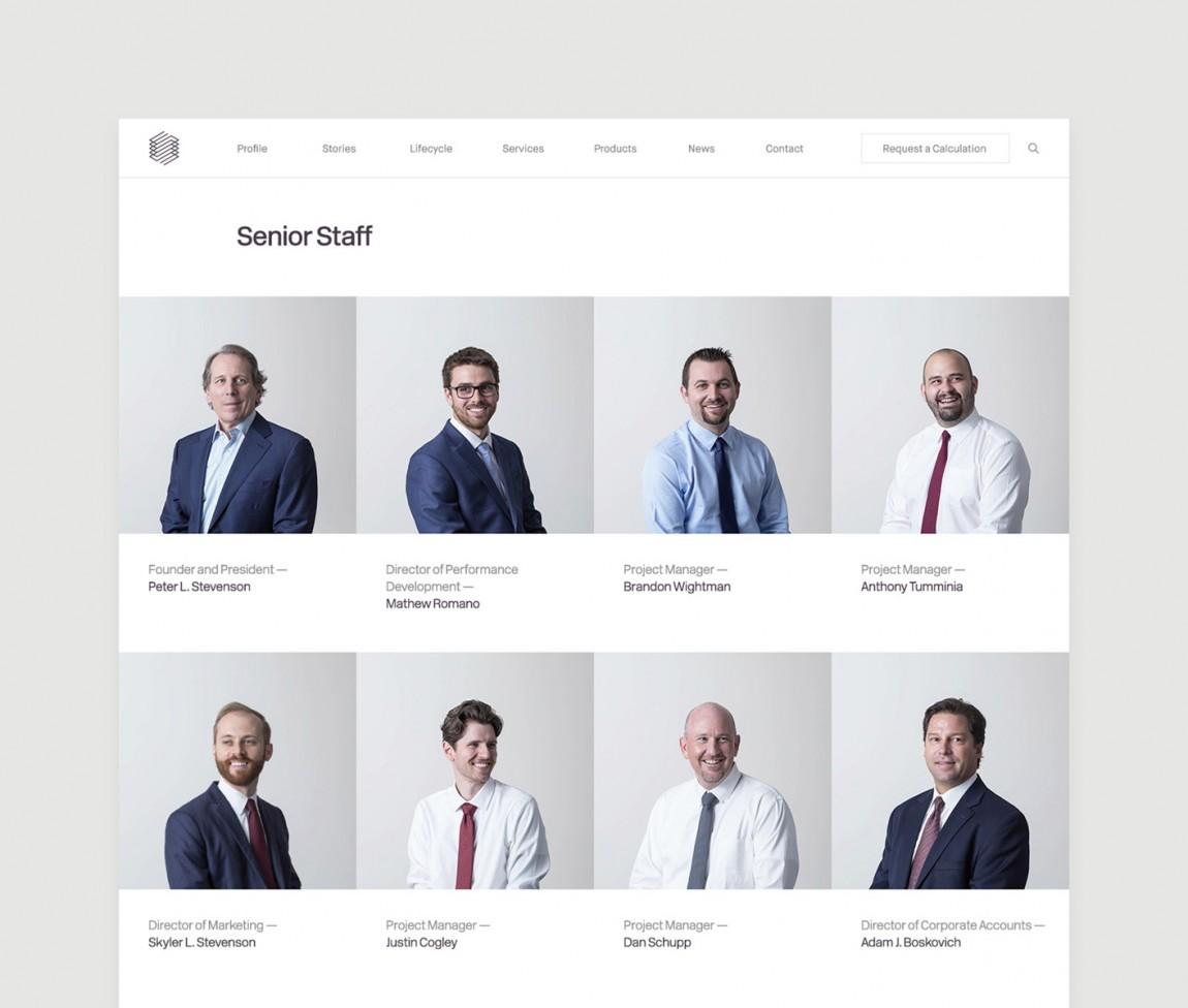 Stevenson Systems 建筑空间咨询公司品牌形象塑造全案设计,官方网站设计