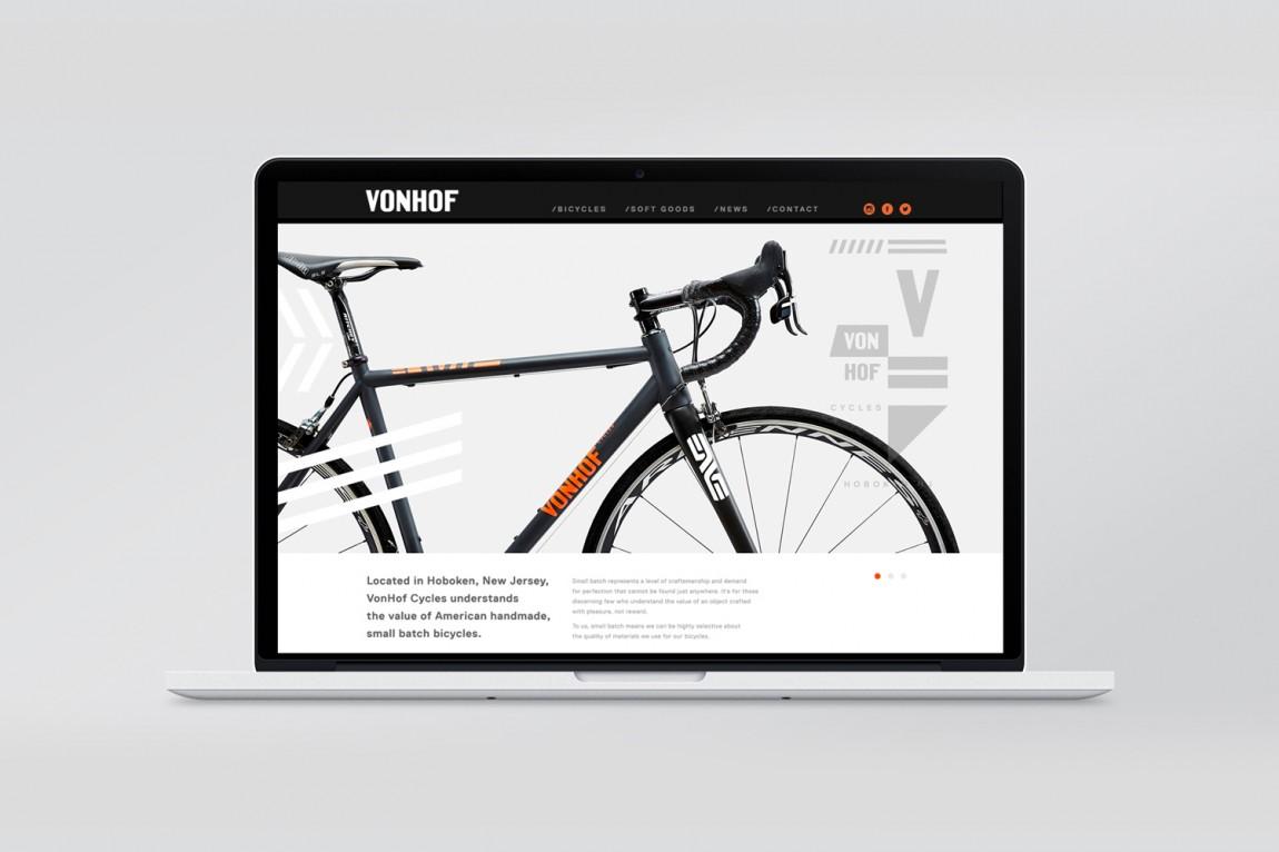 Hoboken自行车品牌设计,网站设计
