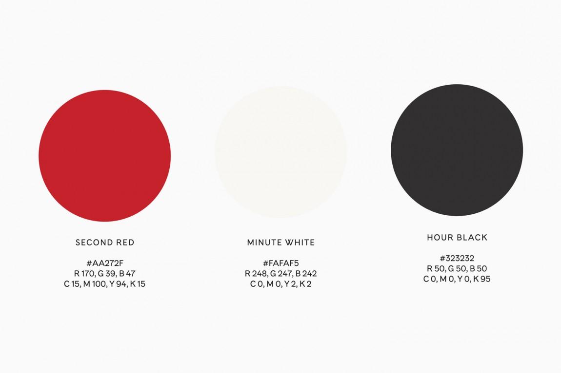 Terri Timely影视公司品牌形象识别系统VIS设计, 标准色设计