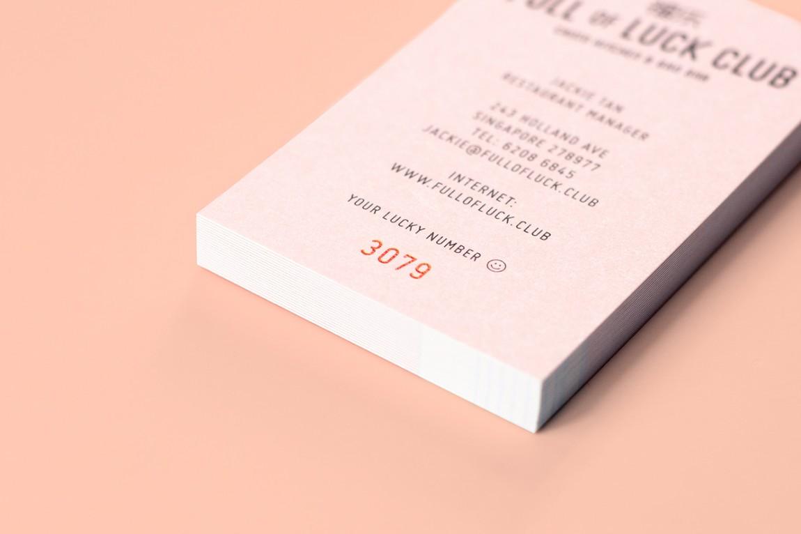 新加坡餐厅品牌设计-VI设计,名片设计