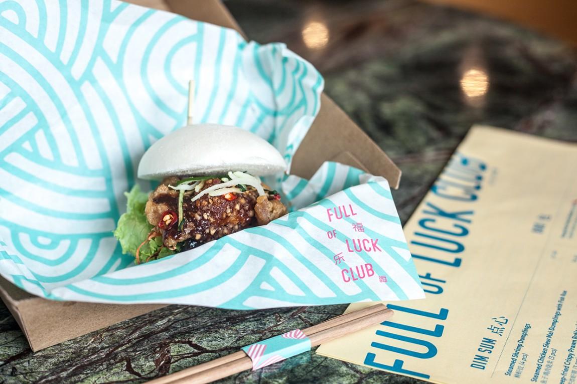 新加坡餐厅品牌设计-VI设计-包装纸设计