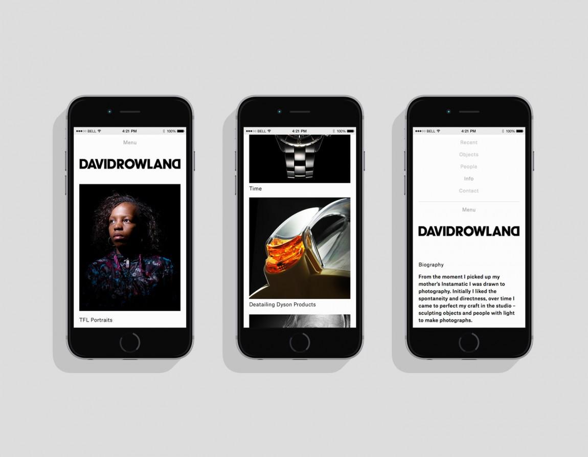 DOD摄影师个人品牌形象设计,手机网站设计