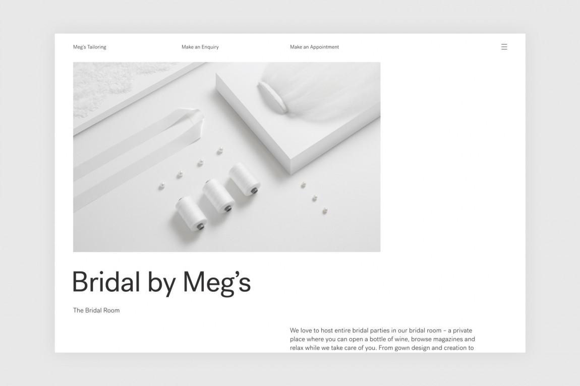 高端设计师服饰Meg's品牌VI设计, 广告设计