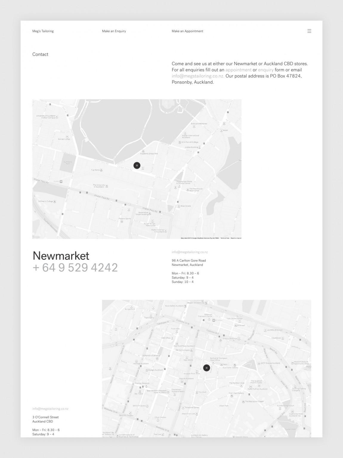 高端设计师服饰Meg's品牌VI设计, 网站设计