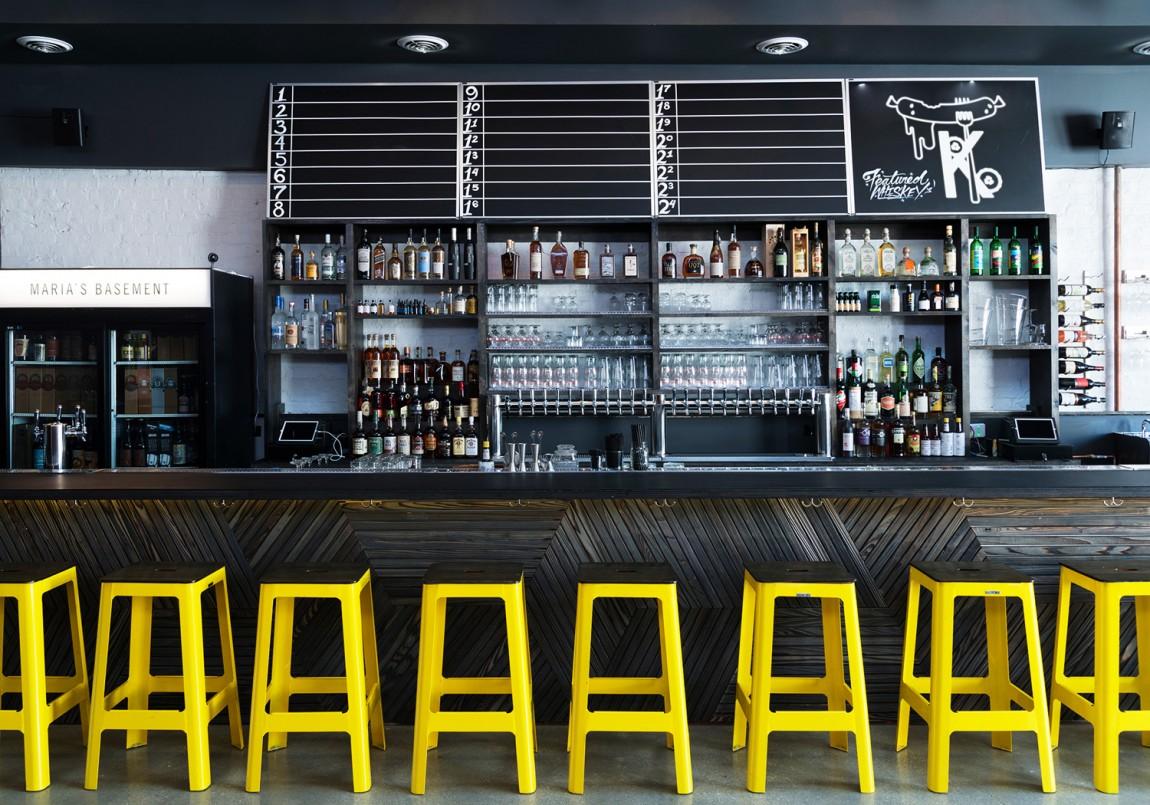 Kimski韩式餐厅餐饮品牌形象设计,室内空间设计