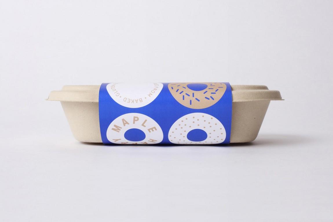 包房Happy Maple面包店连锁品牌形象设计,包装盒设计