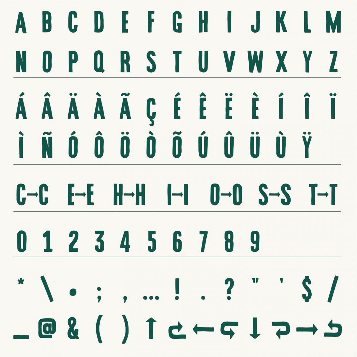 酒吧餐厅Embla餐饮品牌形象设计包装方案, 企业字体设计