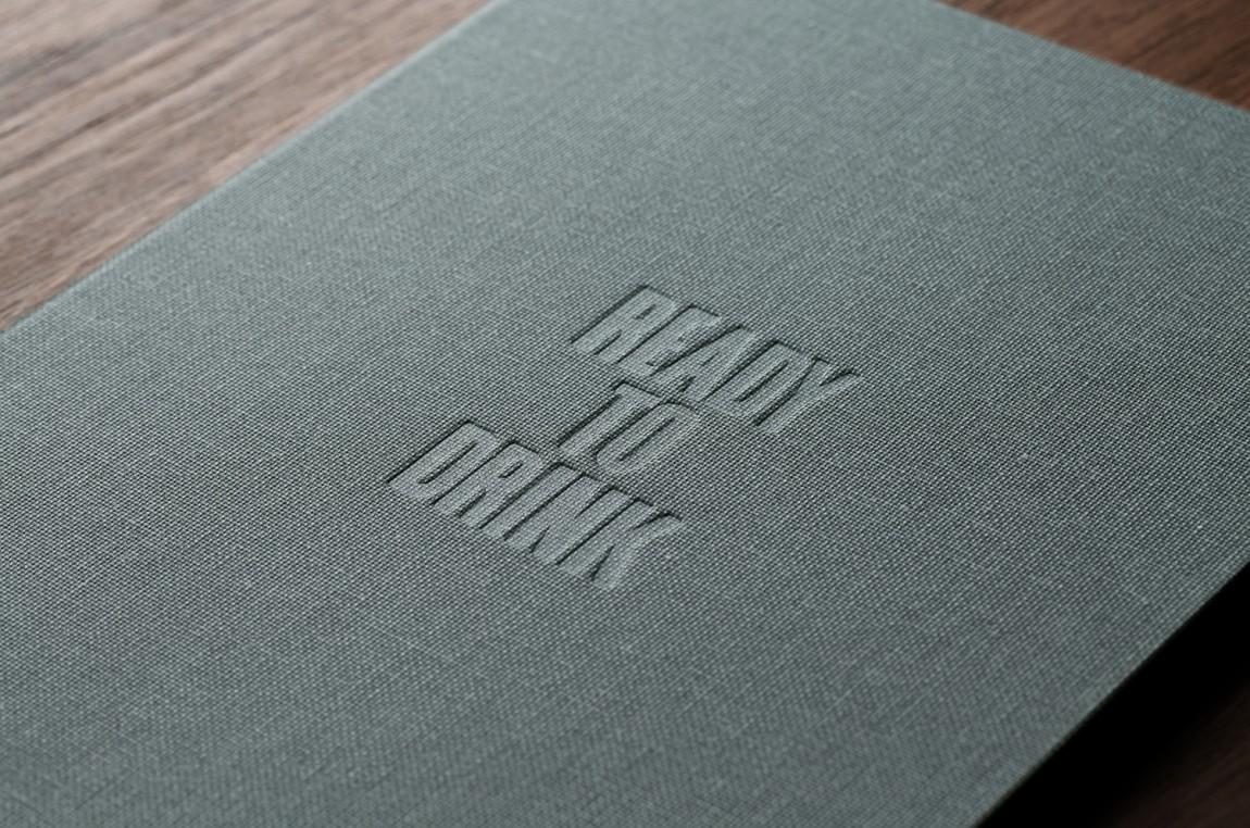 酒吧餐厅Embla餐饮品牌形象设计包装方案,菜单设计