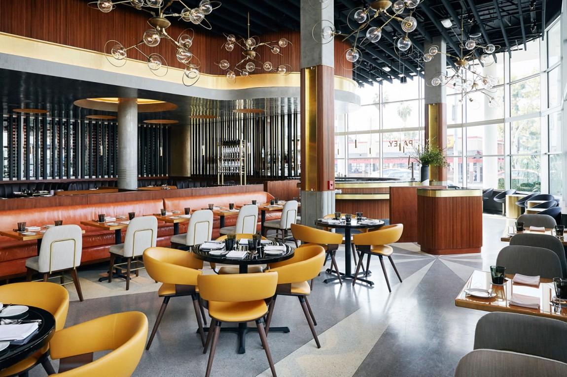 餐饮空间品牌形象设计,Paley中世纪风格餐厅,空间设计