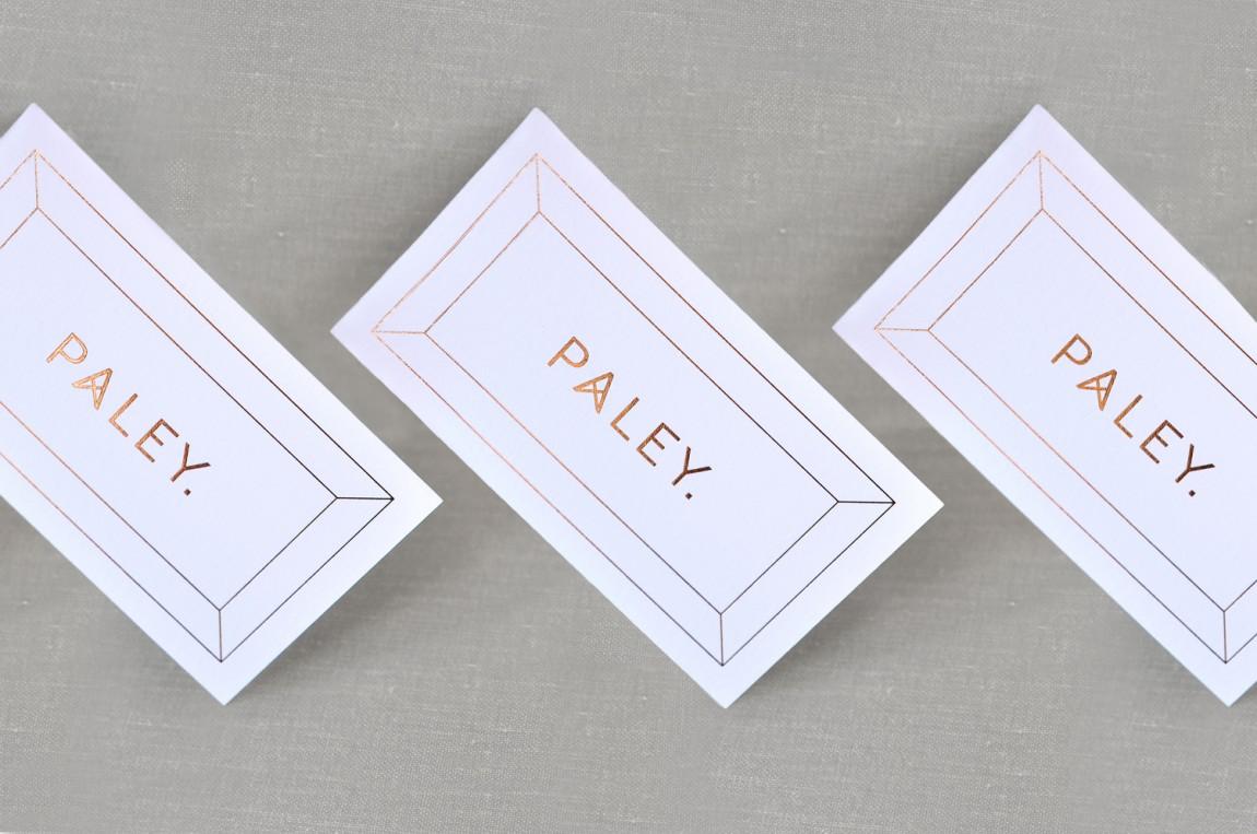 餐饮空间品牌形象设计,Paley中世纪风格餐厅,名片设计