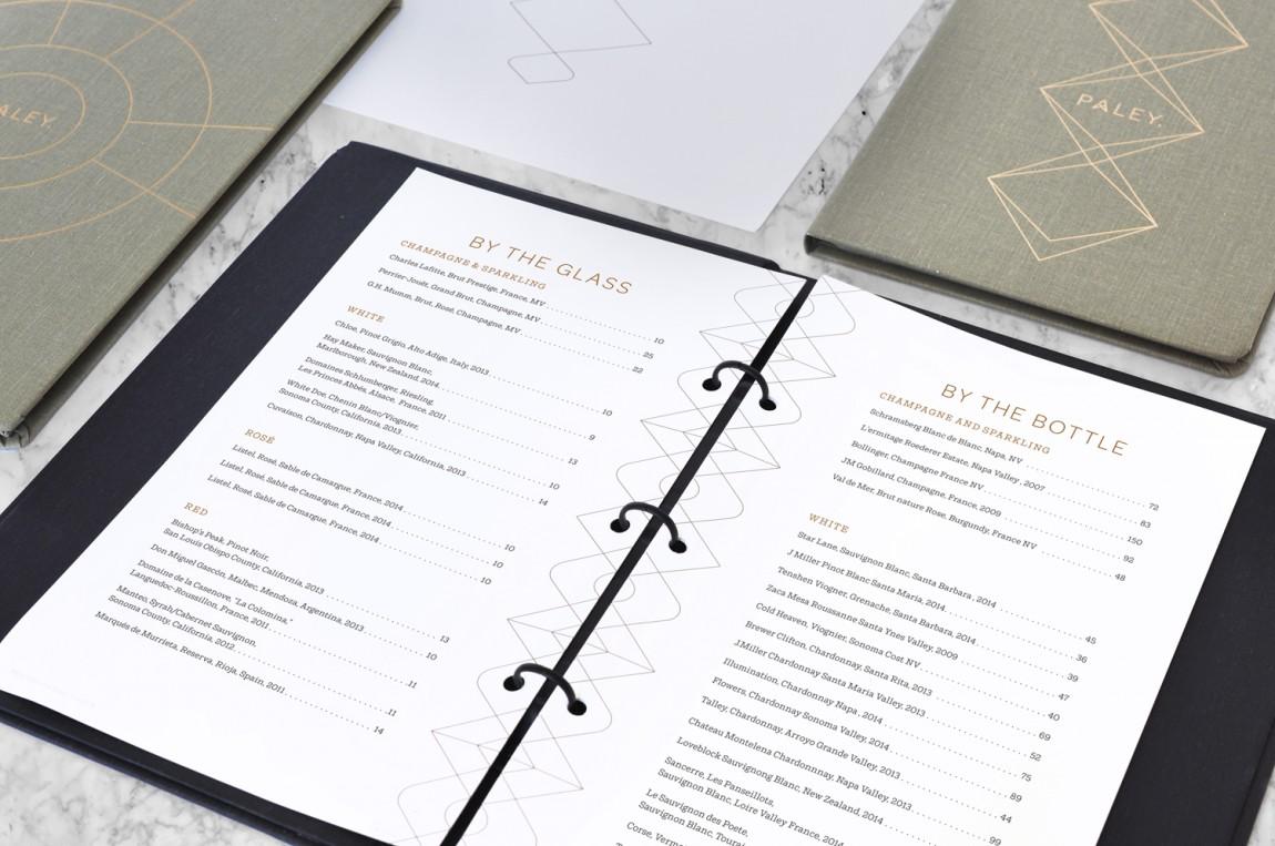 餐饮空间品牌形象设计,Paley中世纪风格餐厅,菜单设计