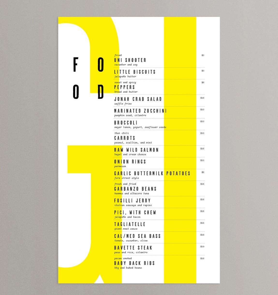 Giant概念餐厅品牌设计, 市场推广设计