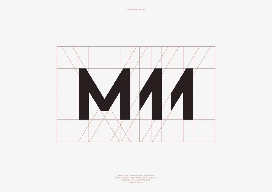 M11高端品牌形象塑造,字体logo设计