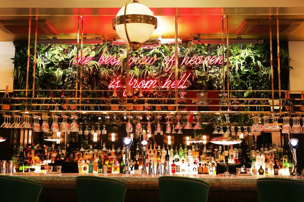 餐厅酒吧Neighbourhood品牌形象设计,空间设计