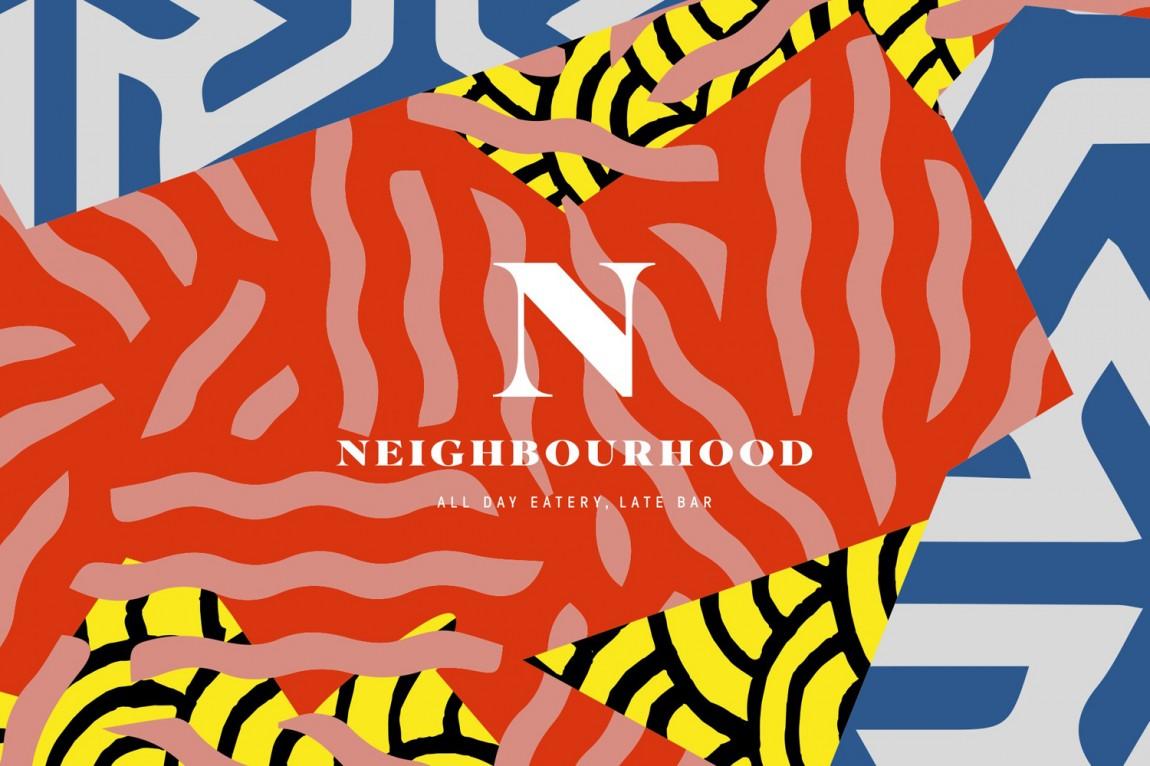 餐厅酒吧Neighbourhood品牌形象设计,品牌设计