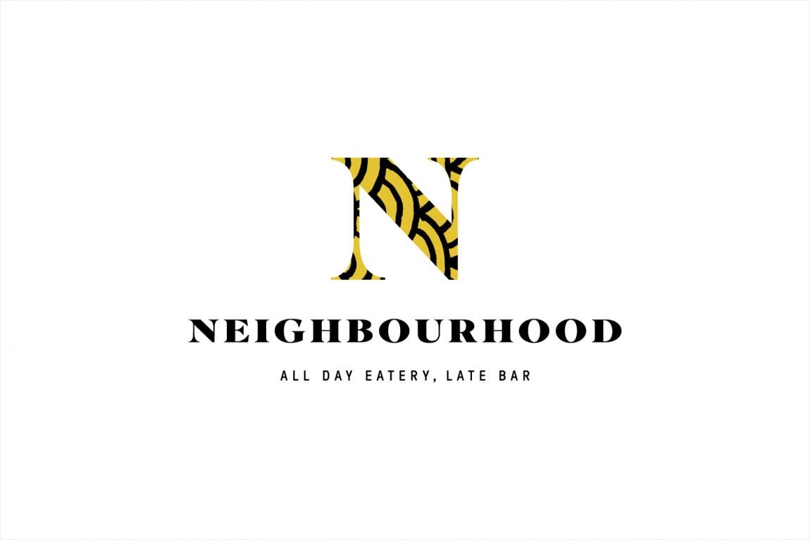 餐厅酒吧Neighbourhood品牌形象设计,商标设计