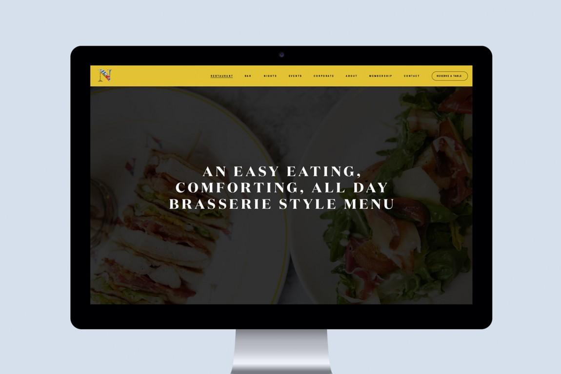 餐厅酒吧Neighbourhood品牌形象设计,公司网站设计