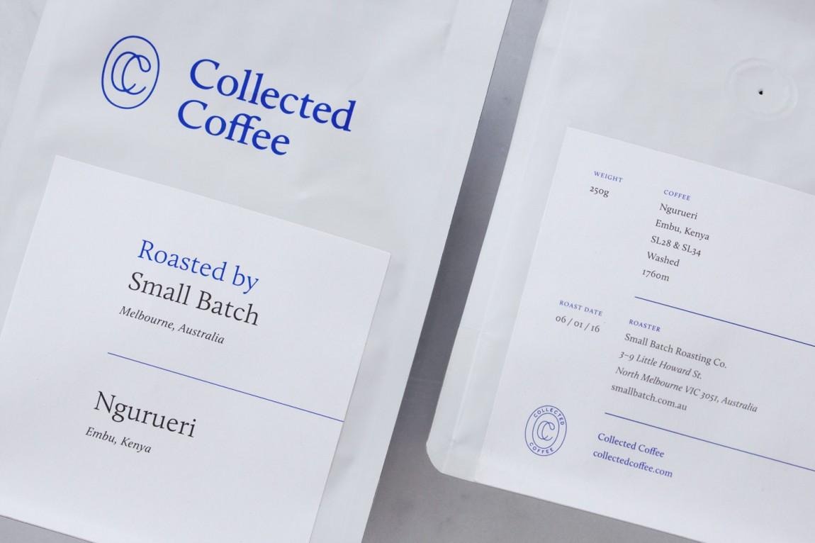 咖啡订购服务公司collect Coffee企业视觉形象设计思路解读,办公应用设计
