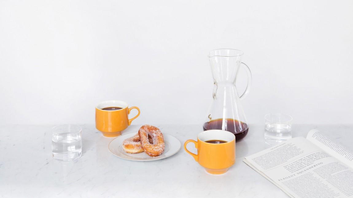 咖啡订购服务公司collect Coffee企业视觉形象设计思路解读,摄影图片