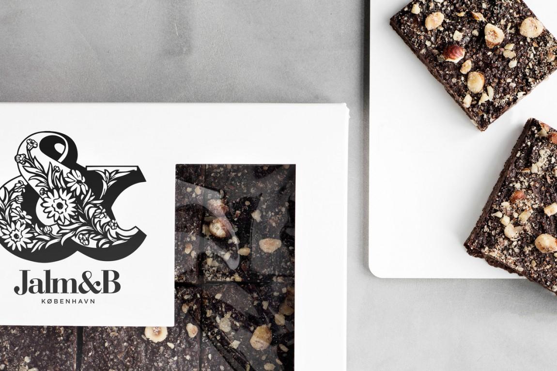 企业形象设计是什么?丹麦面包品牌 Jalm&B实战解析,包装设计