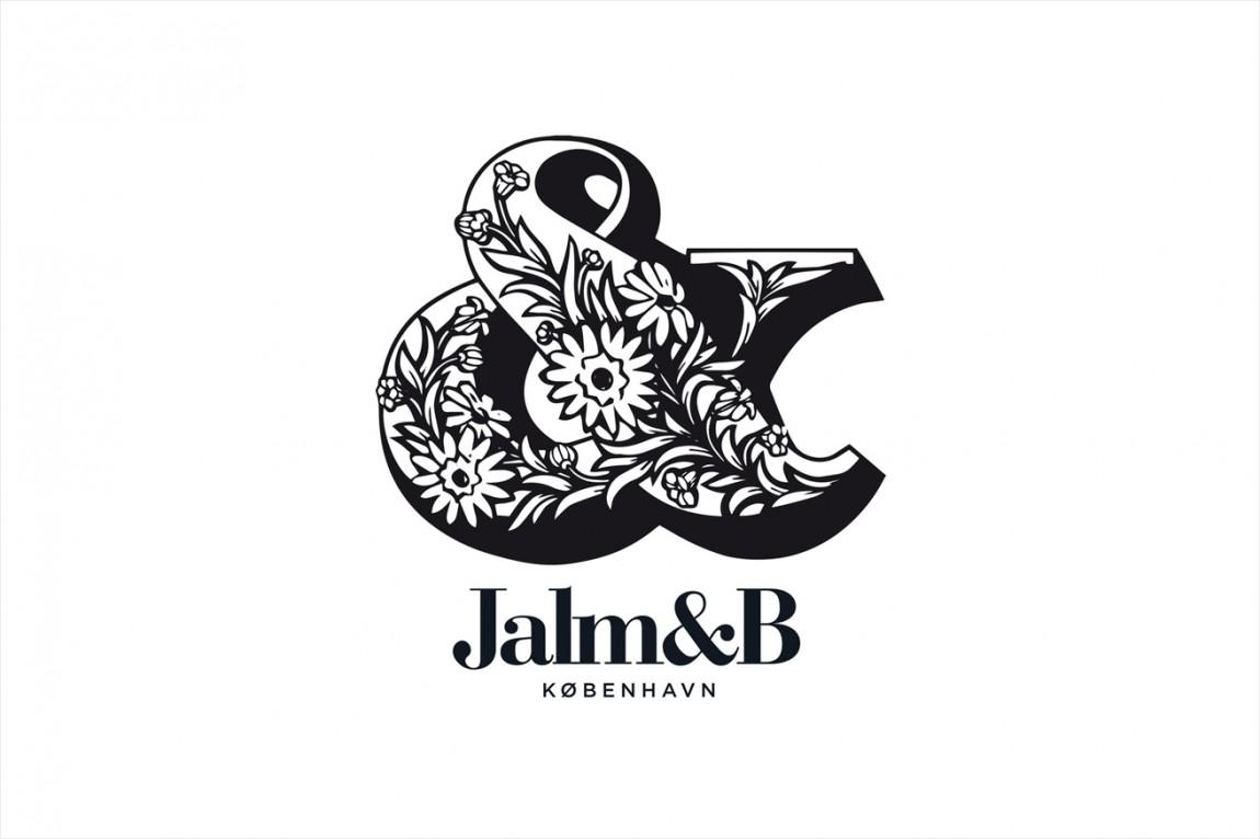 企业形象设计是什么?丹麦面包品牌 Jalm&B实战解析,logo设计