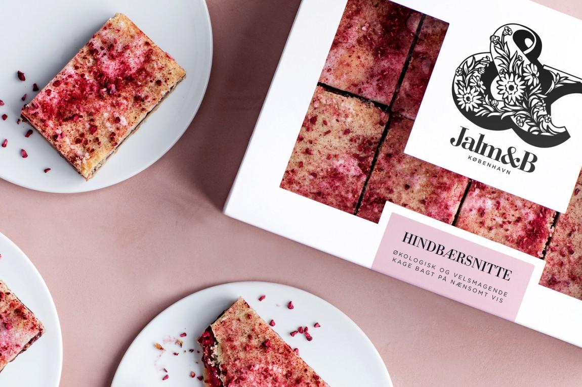 企业形象设计是什么?丹麦面包品牌 Jalm&B实战解析,品牌应用设计
