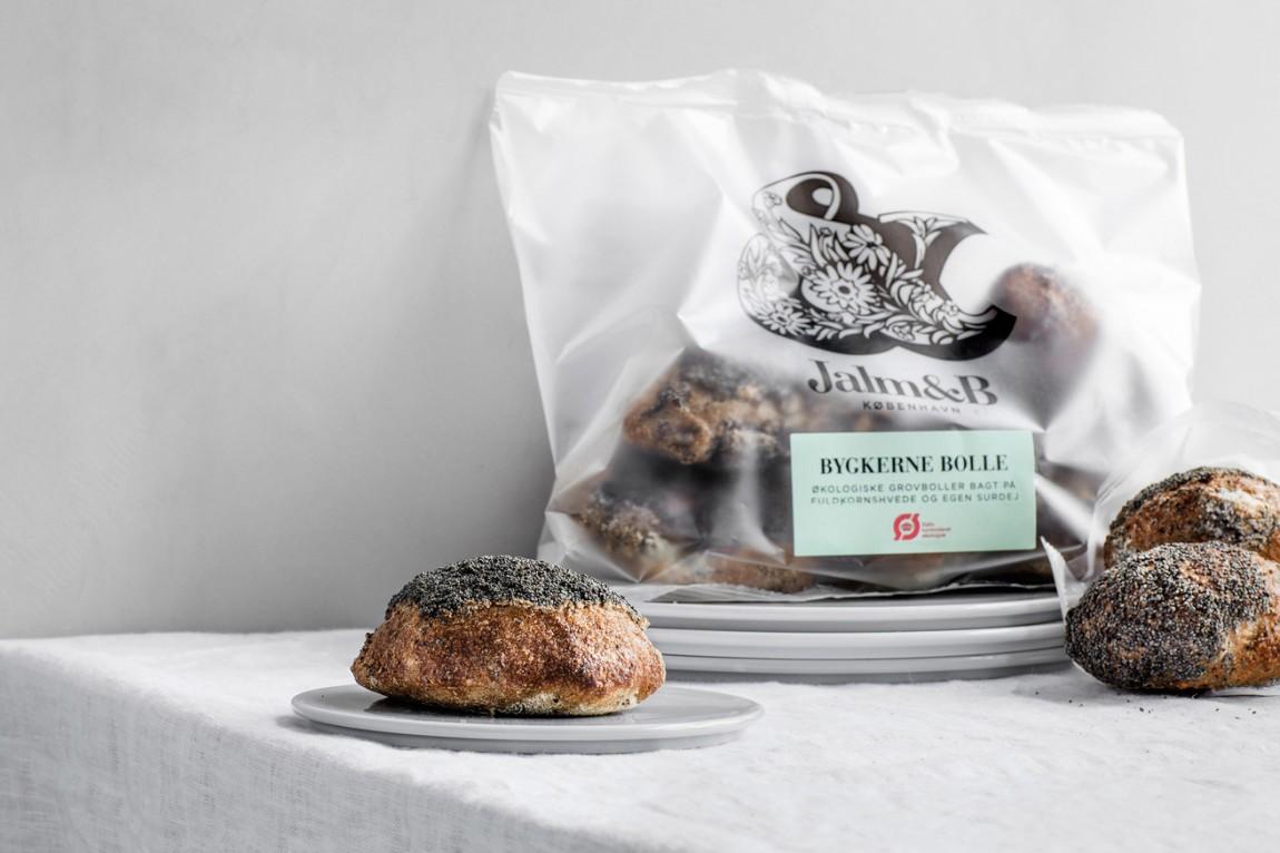 企业形象设计是什么?丹麦面包品牌 Jalm&B实战解析,消费终端设计