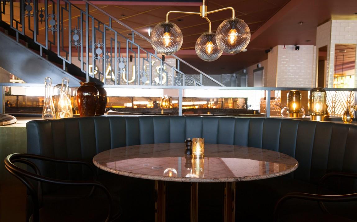 Haymarket酒店的餐厅平面设计,餐厅空间设计