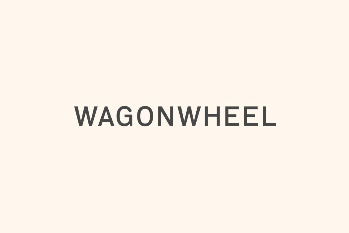 精品房地产公司Wagon Wheel现代企业形象设计,字体设计