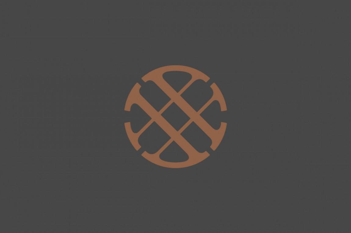 精品房地产公司Wagon Wheel现代企业形象设计,图形logo设计