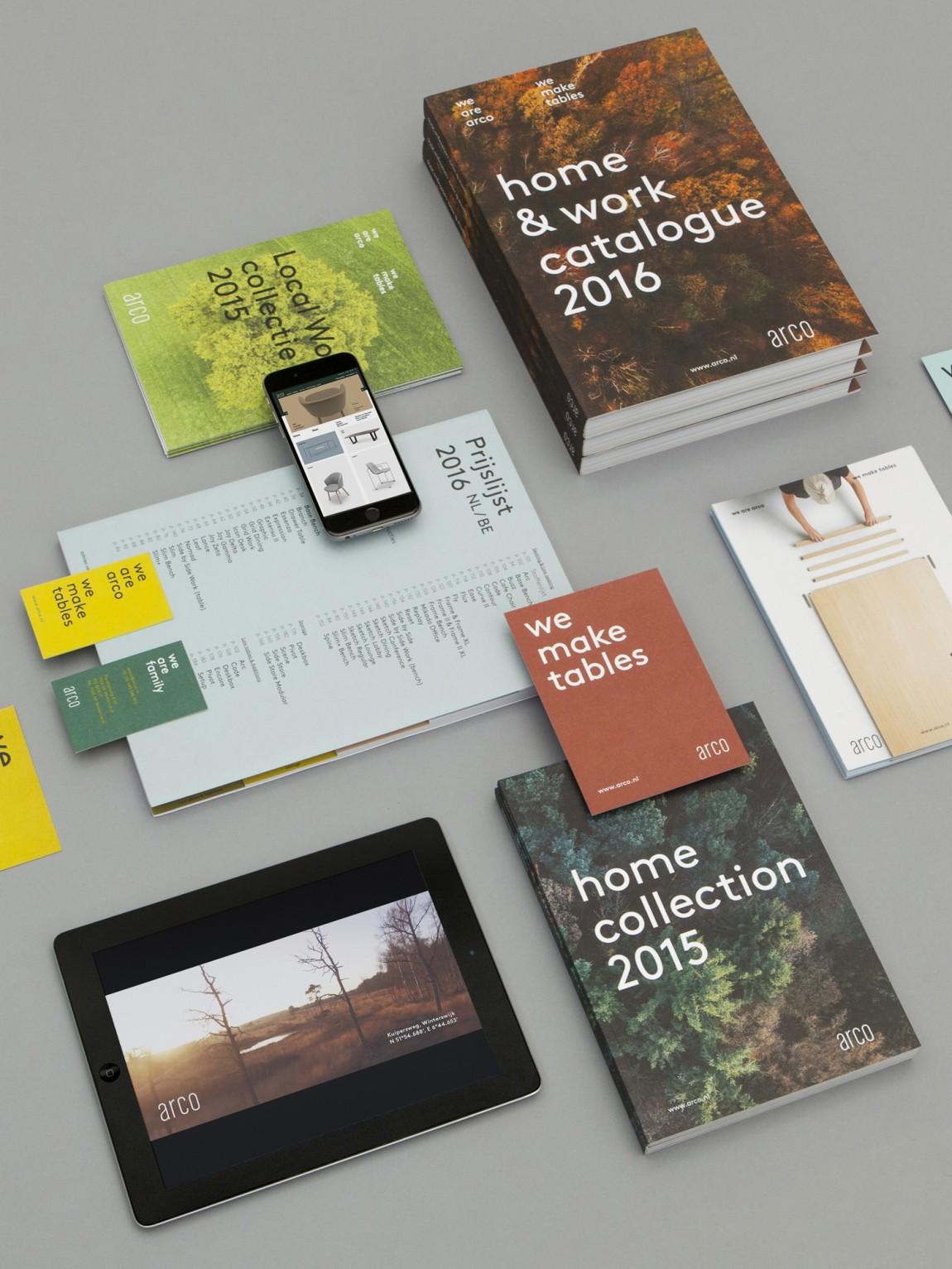 Arco家具设计制造公司VI企业形象设计,公司画册设计