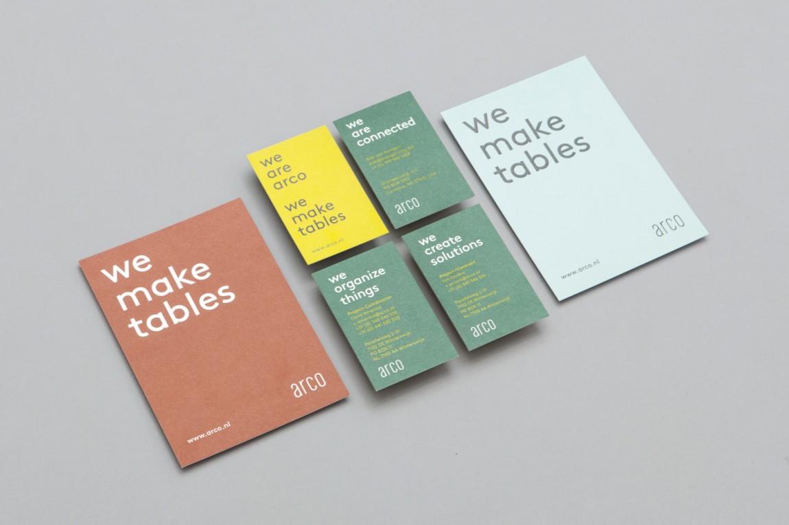 Arco家具设计制造公司VI企业形象设计办公应用设计