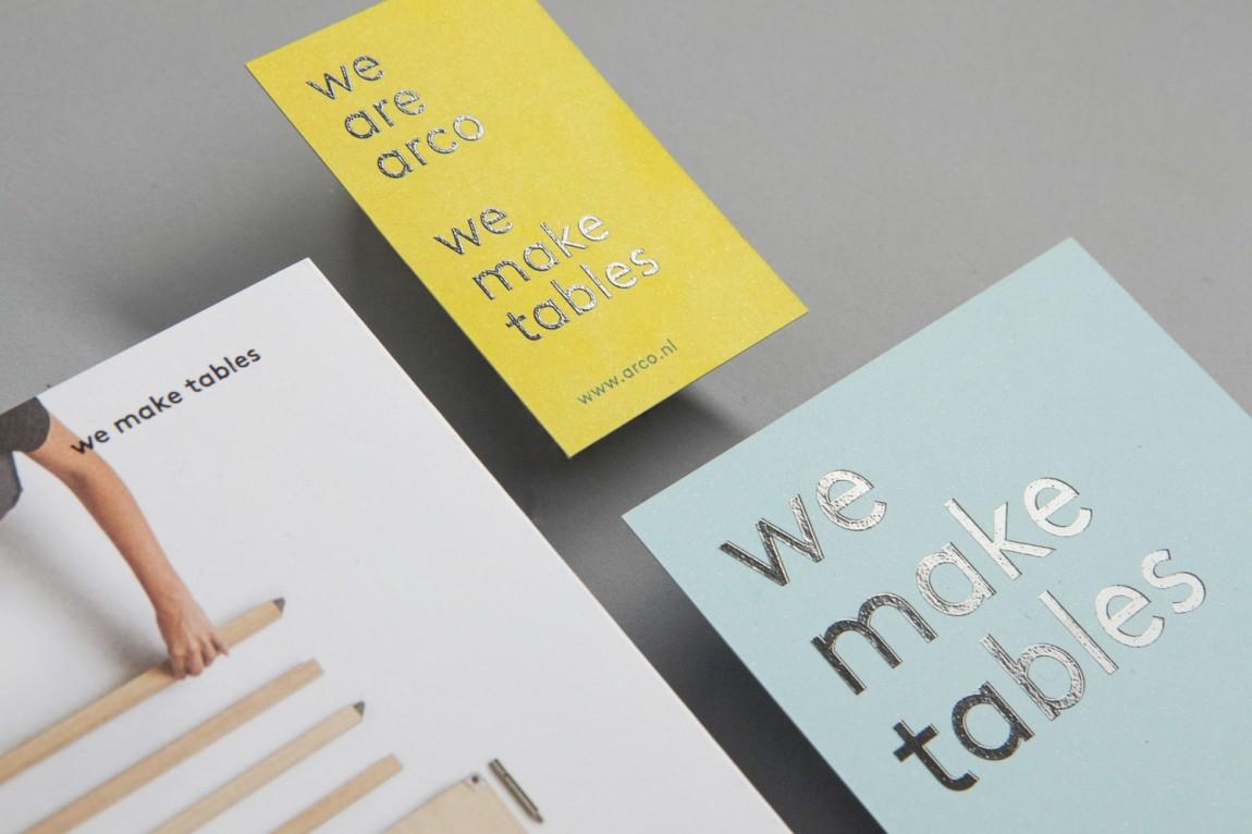 Arco家具设计制造公司VI企业形象设计,名片设计