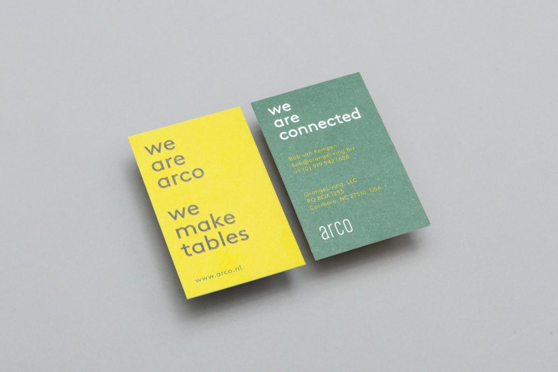 Arco家具设计制造公司VI企业形象设计,市场推广应用设计